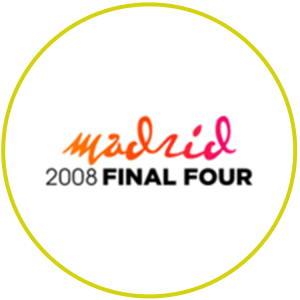 2008 Madrid Euroleague Final Four Logo