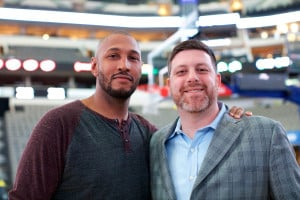 Boris Diaw and Doug Neustadt, TNG Basketball